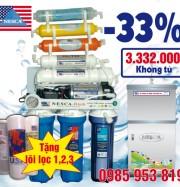 Máy lọc nước RO của Nessca được khách hàng chọn mua nhiều vì có thiết kế nhỏ gọn, sang trọng, độ bền cao.